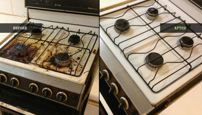 Stove Cleaning
